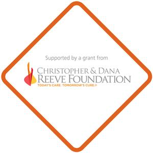 Supported by a grant from Christopher & Dana Reeve Foundation
